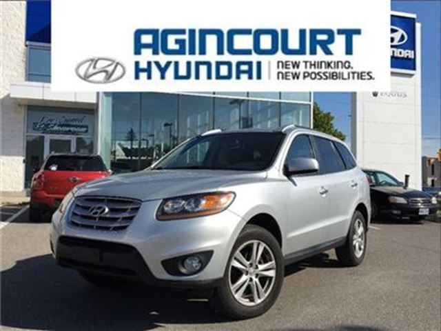 2011 HYUNDAI SANTA FE Limited/NAVI/LEATHER/AWD/SUNROOF/ONLY 99986KMS in Toronto, Ontario