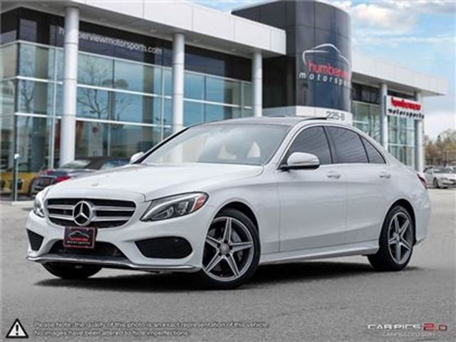 2015 MERCEDES-BENZ C-CLASS C300 4MATIC in Mississauga, Ontario