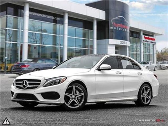 2015 MERCEDES-BENZ C-CLASS C400 4MATIC in Mississauga, Ontario