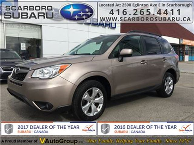 2014 SUBARU FORESTER 2.5i Conv. PKG, FROM 1.9% FINANCING AVAILABLE in Scarborough, Ontario