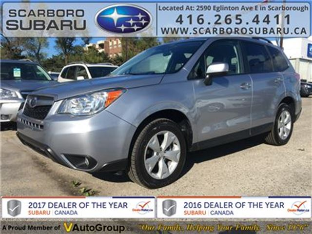 2016 SUBARU FORESTER 2.5i Conv. PKG, FROM 1.9% FINANCING AVAILABLE in Scarborough, Ontario