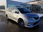 2017 Toyota Sienna 5DR SE 8-PASS FWD Backup Cam, Heated Leather Front Seats, Power Slide Doors & Liftgate in Edmonton, Alberta