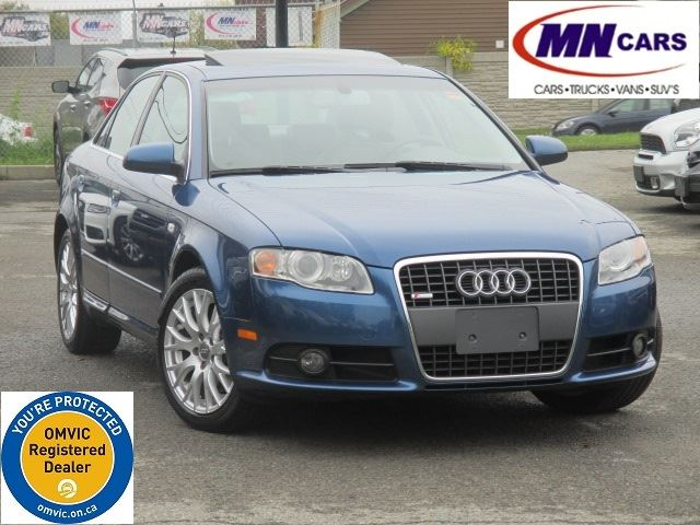 2008 AUDI A4 2.0T quattro S-Line Low KMs in Ottawa, Ontario