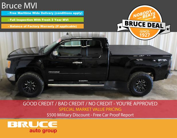 2013 GMC SIERRA 1500 SL 4.8L 8 CYL AUTOMATIC 4X4 EXTENDED CAB in Middleton, Nova Scotia