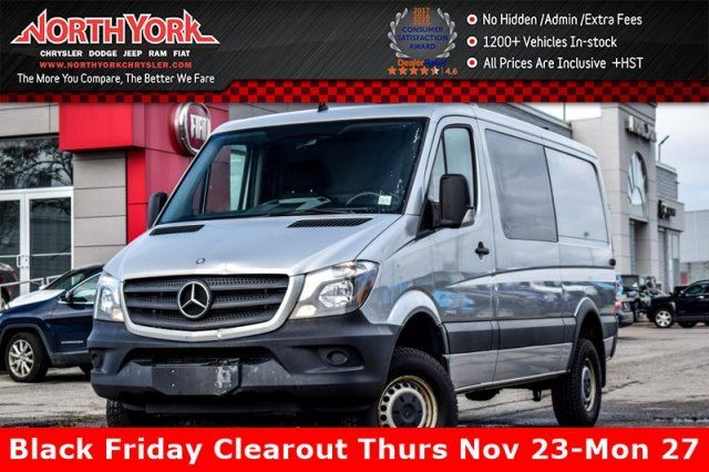 2015 MERCEDES-BENZ SPRINTER AWD BluetecDiesel Backup_Cam Bluetooth KeylessEntry in Thornhill, Ontario