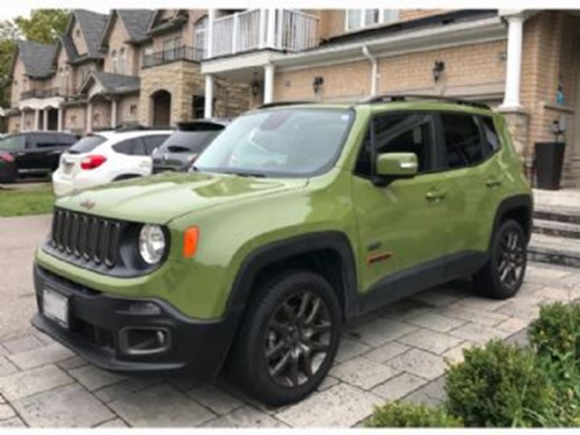 2016 JEEP RENEGADE 75th Aniversary 4WD in Mississauga, Ontario