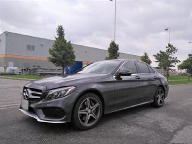 2016 MERCEDES-BENZ C-CLASS 300 AWD Sport package, Premium & Premium Plus package, in Mississauga, Ontario