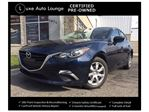 2015 Mazda MAZDA3 GX - LOW KM, AUTO, BLUETOOTH, A/C, POWER GROUP, PUSH-BUTTON START! LUXE CERTIFIED PRE-OWNED! in Orleans, Ontario
