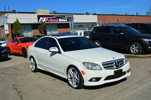 2009 MERCEDES-BENZ C-CLASS 300 4Matic AWD Bluetooth Leather Sunroof!! in Brampton, Ontario