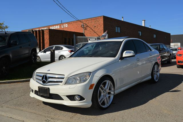 used 2009 mercedes benz c class 300 4matic awd. Black Bedroom Furniture Sets. Home Design Ideas