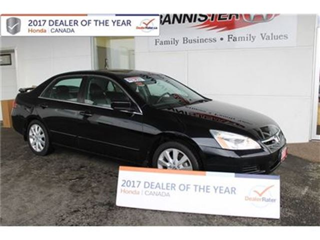 2007 HONDA ACCORD EX V6 sedan in Vernon, British Columbia