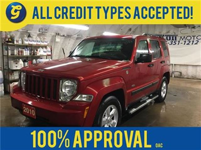 2010 JEEP LIBERTY SORT*4WD*POWER SUNROOF*KEYLESS ENTRY*CLIMATE CONTR in Cambridge, Ontario