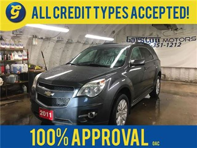 2011 CHEVROLET EQUINOX LT*KEYLESS ENTRY*POWER DRIVER SEAT*ECO MODE*ALLOYS in Cambridge, Ontario