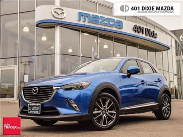 2017 MAZDA CX-3 GT, NAVIGATION, ALLOY WHEELS, BOSE AUDIO in Mississauga, Ontario