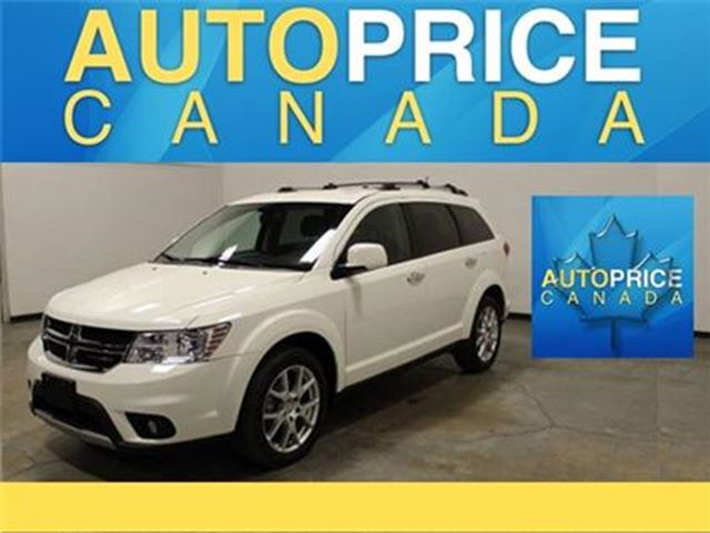 2017 DODGE JOURNEY GT-AWD-LEATHER-7PASS in Mississauga, Ontario
