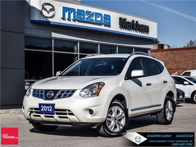 2012 NISSAN ROGUE SV (CVT) AWD 7 SEATERS ACCIDENT FREE PANO ROOF in Markham, Ontario
