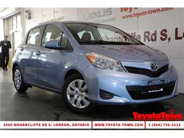 2014 TOYOTA YARIS SINGLE OWNER LOW MILEAGE LE HATCHBACK in London, Ontario