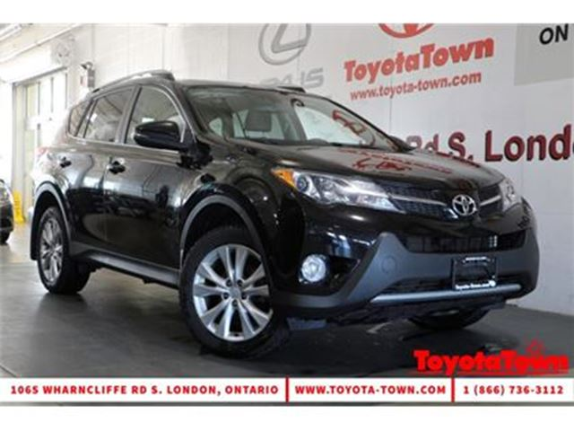 2013 TOYOTA RAV4 LIMITED LEATHER NAVIGATION BLIND SPOT MONITOR in London, Ontario