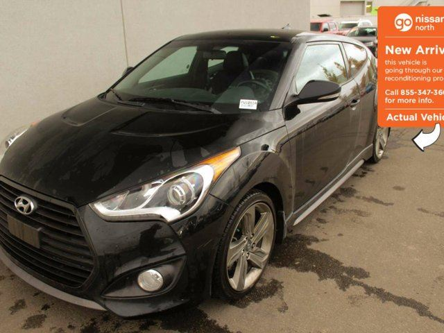 2015 HYUNDAI VELOSTER Turbo 3dr Hatchback TOP MODEL, EVERY SINGLE OPTION, NICE CAR!! in Edmonton, Alberta