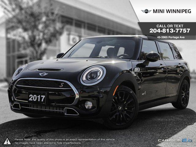 2017 MINI COOPER S Essentials & Style Packages! in Winnipeg, Manitoba