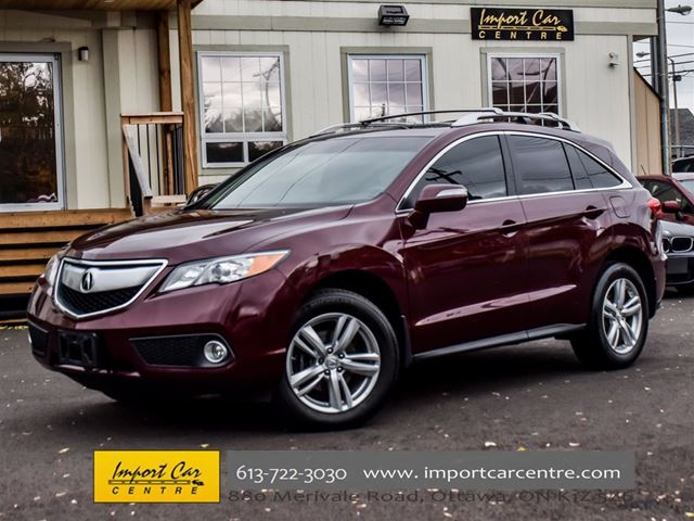2014 ACURA RDX Technology Package in Ottawa, Ontario