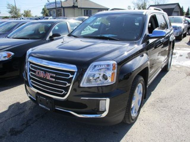 2017 GMC TERRAIN LOADED SLT EDITION 5 PASSENGER 3.6L - V6.. AWD. in Bradford, Ontario