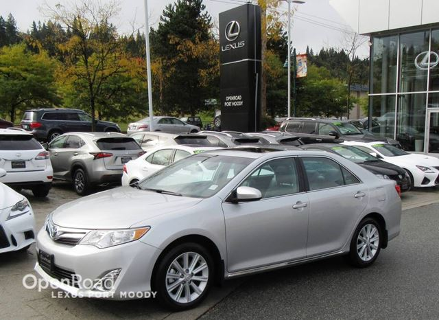 2012 TOYOTA CAMRY XLE - Navigation - Back Up Camera in Port Moody, British Columbia