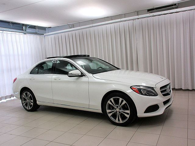 2016 MERCEDES-BENZ C-CLASS C300 4MATIC AWD w/ PREMIUM, NAVIGATION & LED LI in Halifax, Nova Scotia