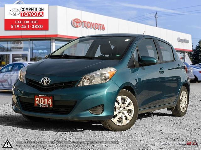 2014 TOYOTA YARIS LE One Owner in London, Ontario