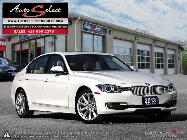 2013 BMW 3 Series 328 i xDrive AWD ONLY 78K! **NAVIGATION PKG** CLEAN CARPROOF in Scarborough, Ontario