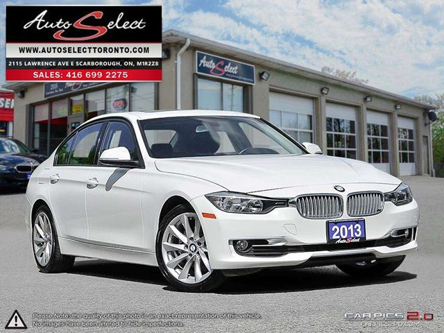 2013 BMW 3 SERIES xDrive AWD ONLY 111K! **CLEAN CARPROOF** MODERN PKG in Scarborough, Ontario