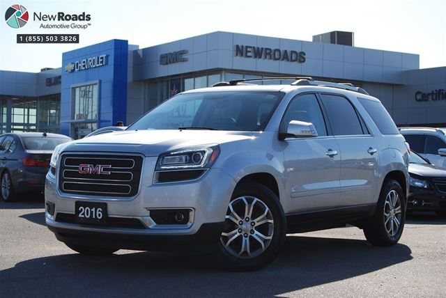 2016 GMC ACADIA SLT1 SLT1, AWD, 7 PASS, ONE OWNER, NO ACCIDENT in Newmarket, Ontario
