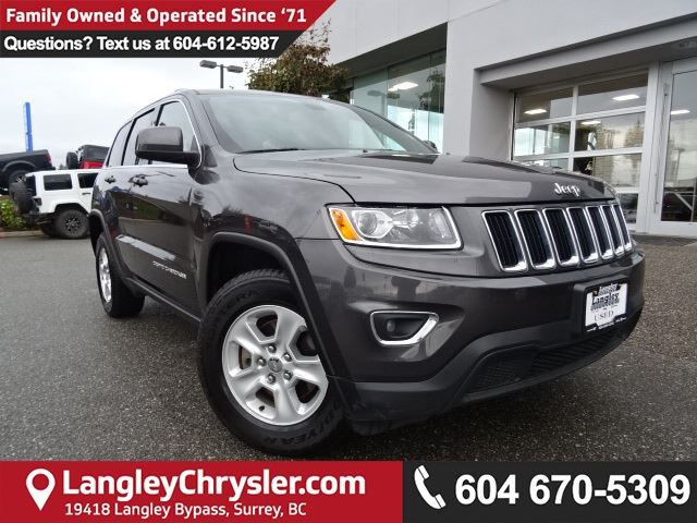 2015 JEEP GRAND CHEROKEE Laredo *ACCIDENT FREE*ONE OWNER*LOCAL BC CAR* in Surrey, British Columbia