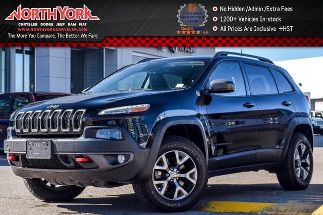 2017 JEEP CHEROKEE L Plus Pkg in Thornhill, Ontario