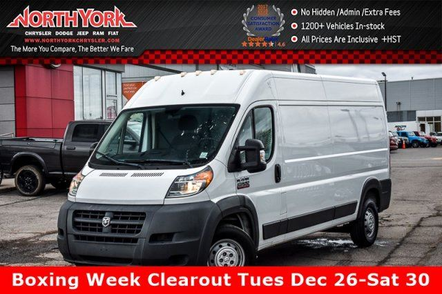 2014 RAM PROMASTER High Roof 159 Diesel Keyless_Entry Trac.Cntrl Bluetooth in Thornhill, Ontario