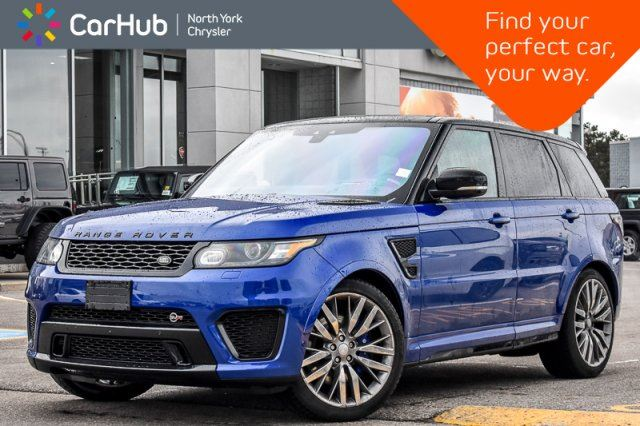 2017 LAND ROVER RANGE ROVER Sport SVR in Thornhill, Ontario