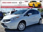 2015 Nissan Versa SV NOTE w/keyless,cruise,bluetooth,rear cam,xmradio in Cambridge, Ontario