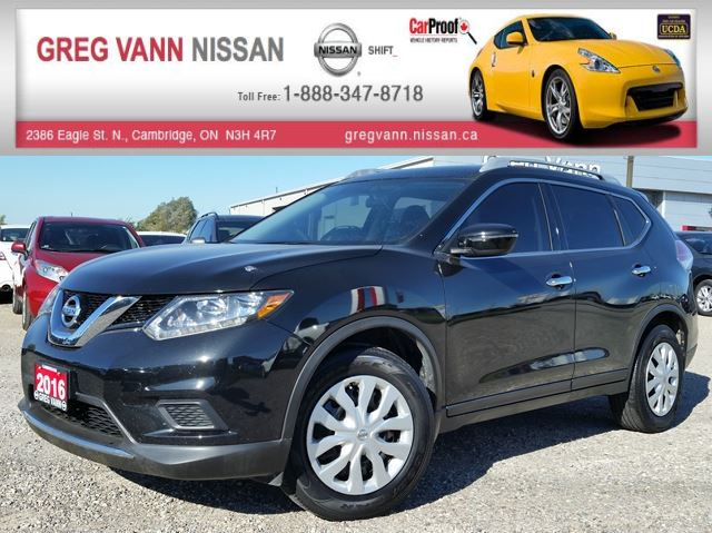 2016 NISSAN ROGUE FWD w/keyless,cruise,bluetooth,rear cam in Cambridge, Ontario