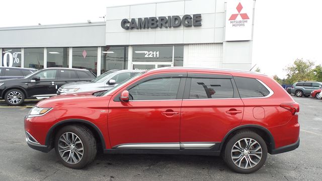 2016 Mitsubishi Outlander GT in Cambridge, Ontario