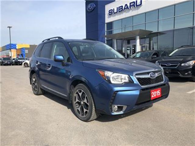 2015 SUBARU FORESTER 2.0XT LTD w/ Tech. Pkg. in Kingston, Ontario