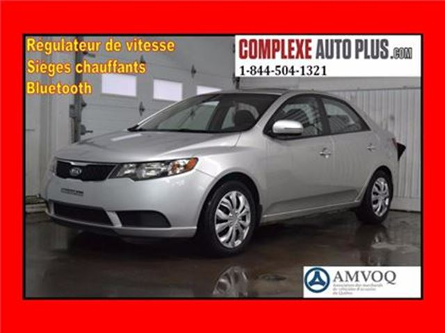 2012 Kia Forte EX Berline *Bluetooth, Cruise, Banc chauffant in Saint-Jerome, Quebec