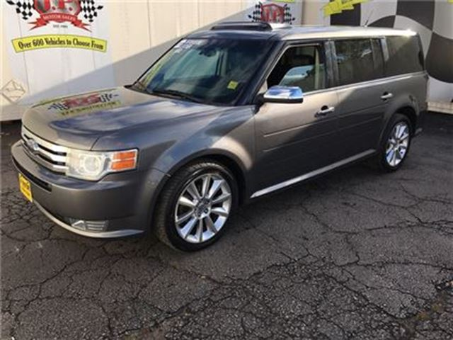 2010 FORD FLEX Limited, Automatic, Leather, Sunroof, AWD in Burlington, Ontario