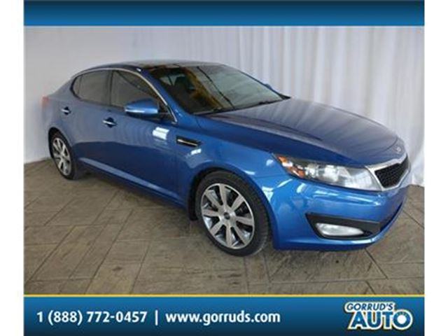 2013 KIA OPTIMA EX/LUXURY/PANO ROOF/LEATHER/CRUISE/BLUETOOTH/NAV in Milton, Ontario