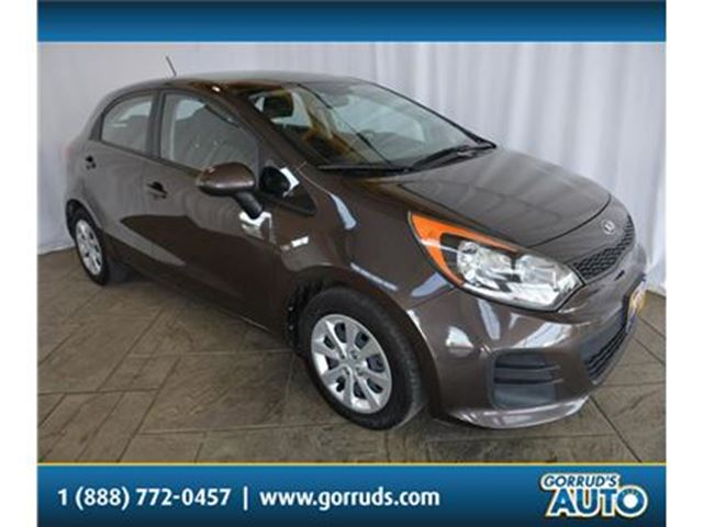 2016 KIA RIO LX PLUS/HATCHBACK/AUTO/AC/CRUISE/PWR WINDOWS in Milton, Ontario