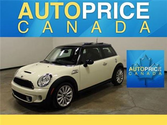 2012 MINI COOPER S SPORT PKG PANOROOF LEATHER in Mississauga, Ontario