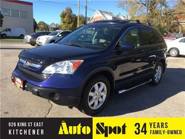 2007 HONDA CR-V EX-L/LOW, LOW KMS/TOP OF THE LINE CRV! in Kitchener, Ontario