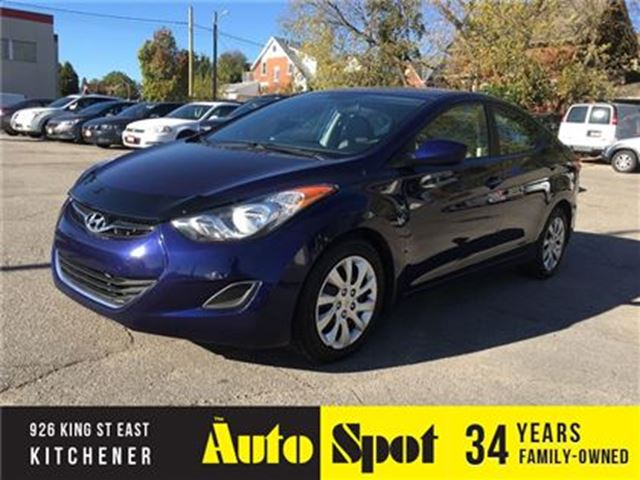 2013 HYUNDAI ELANTRA GL/METICULOUS MAINTAINED/PRICED FOR A QUCK SALE! in Kitchener, Ontario