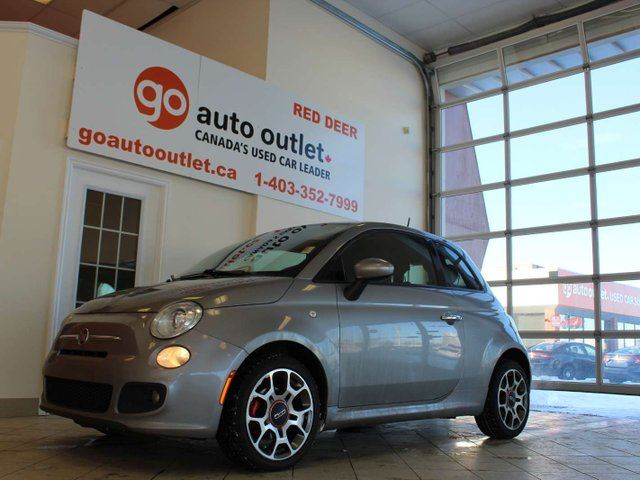 2015 FIAT 500 Sport 2dr Hatchback in Red Deer, Alberta