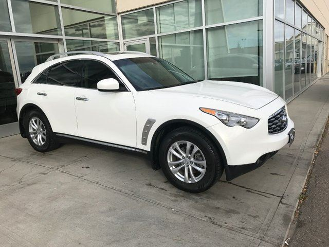 2009 INFINITI FX35 HEATED AND COOLED SEATS/BOSE AUDIO/BACK UP CAMERA/SUNROOF in Edmonton, Alberta