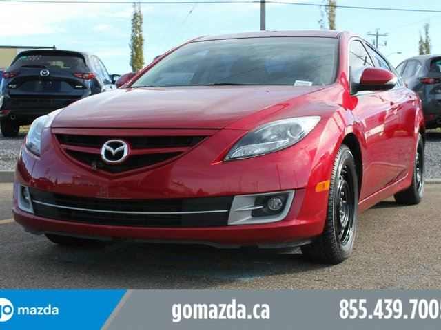 2013 MAZDA MAZDA6 GT-V6 LEATHER SUNROOF HEATED SEATS 2 SETS OF TIRES/WHEELS ( WINTERS BRAND NEW) in Edmonton, Alberta